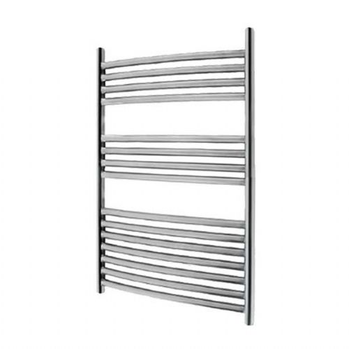 Abacus Elegance Radius Curved Towel Rail - 750mm x 480mm -Polished Stainless Steel